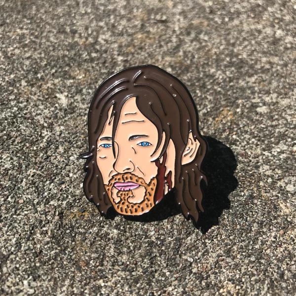 Daryl Dixon Walking Dead Enamel Pin