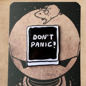 Hitchhikers Guide - Don't Panic Enamel Pin