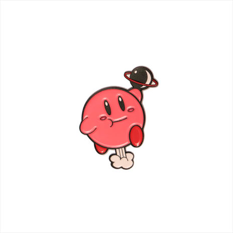 Farting Kirby Enamel Pin