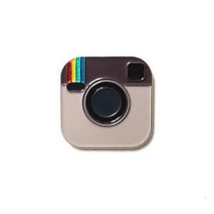 Instagram Enamel Pin
