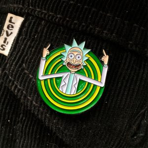 Peace Among Worlds Folks Enamel Pin