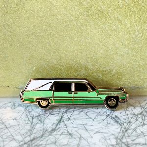 Six Feet Under - Claire Fisher's Hearse Enamel Pin