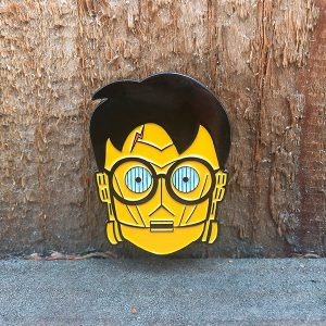 C3-Potter Enamel Pin