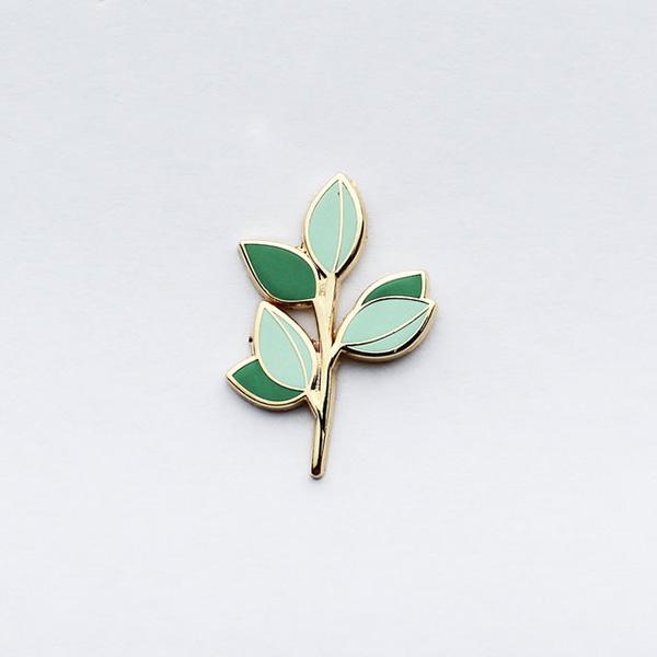 Eucalyptus Branch Enamel Pin