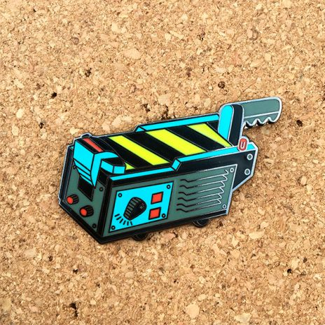 Ghost Trap Hard Enamel Pin