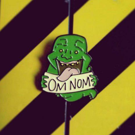 Ghostbusters Slimer Enamel Pin