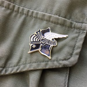 Knight Enamel Pin