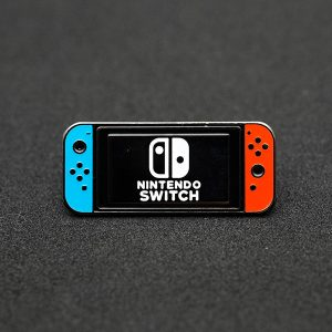 Nintendo Switch Console Enamel Pin
