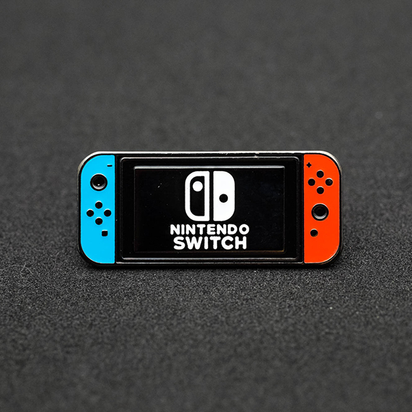 Nintendo Switch Console Enamel Pin