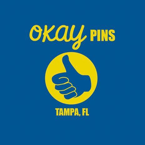 Okay Pins Logo