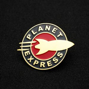 Planet Express Enamel Pin
