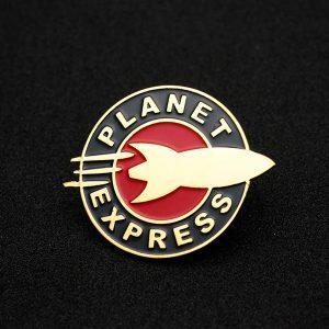 Planet Express Enamel Pin