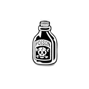 Poison Soft Enamel Pin