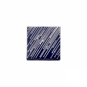 Stormy Weather Enamel Pin