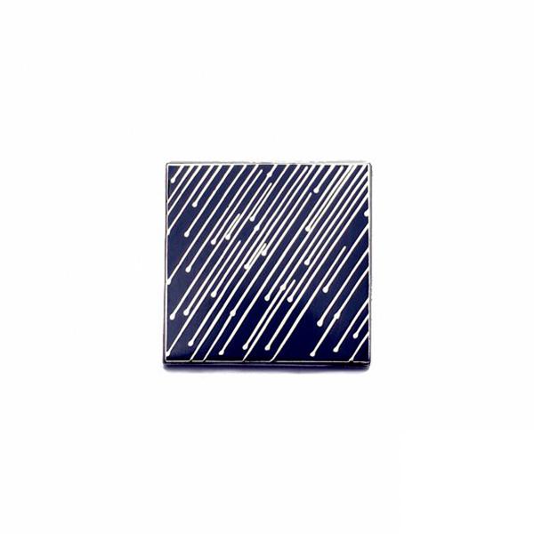Stormy Weather Enamel Pin