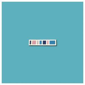 Bar (Cool Tones) Enamel Pin