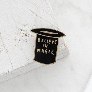 Believe in Magic Enamel Pin