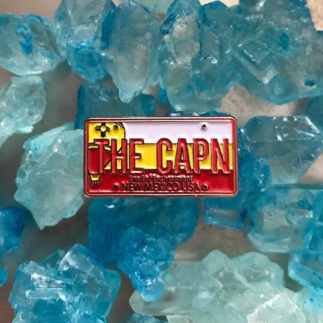 "Breaking Bad ""The CAPN"" Enamel Pin"