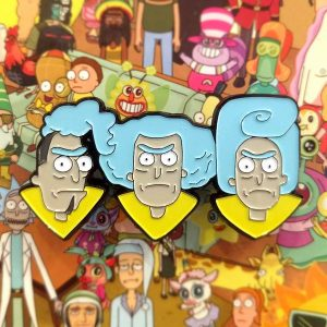 Council of Ricks Enamel Pin