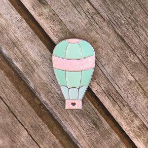 Hot Air Balloon Enamel Pin