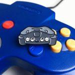 Nintendo Kid 64 Enamel Pin