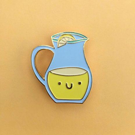 Lemonade Pal Enamel Pin