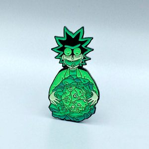 Rick's Isotope Enamel Pin