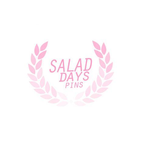 Salad Days Pins Logo