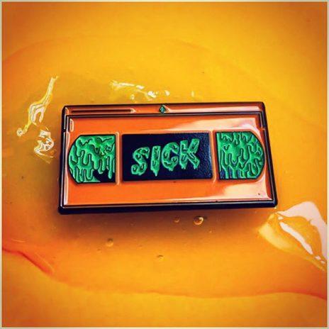 Sick Tape Enamel Pin