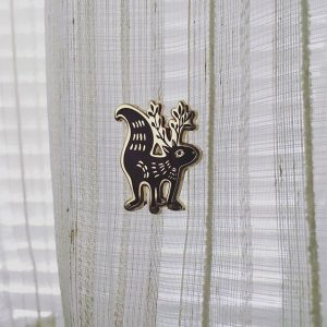 Squirrel Hard Enamel Pin