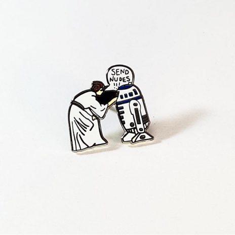 Star Wars Send Nudes Enamel Pin
