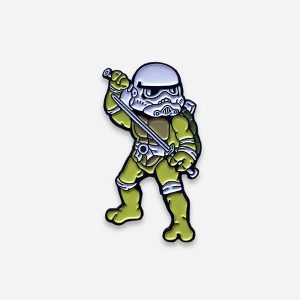 Teenage Mutant Ninja Trooper Enamel Pin