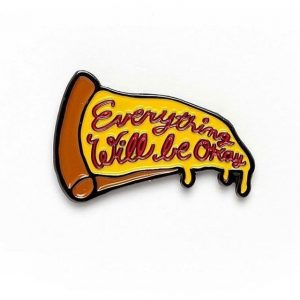 The Everything Pizza Enamel Pin