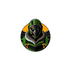 The Vulture Enamel Pin