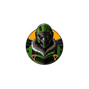 The Vulture Enamel Pin