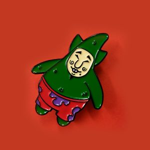 Tingle Starr Enamel Pin