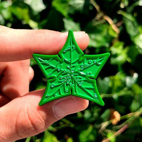Tree Star Enamel Pin