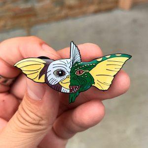 Yin-Yang Gremlins Enamel Pin