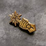 Comply (Antique) Enamel Pin