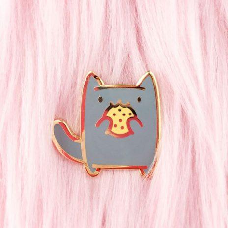 Cookie Kitten Enamel Pin