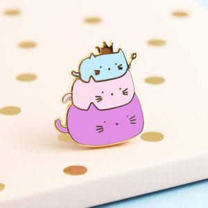 Cute Cat Enamel Pin