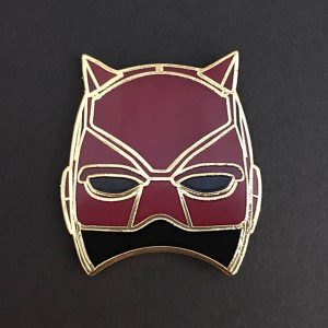 Daredevil Mask Enamel Pin