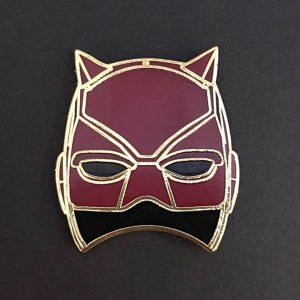 Daredevil Mask Enamel Pin
