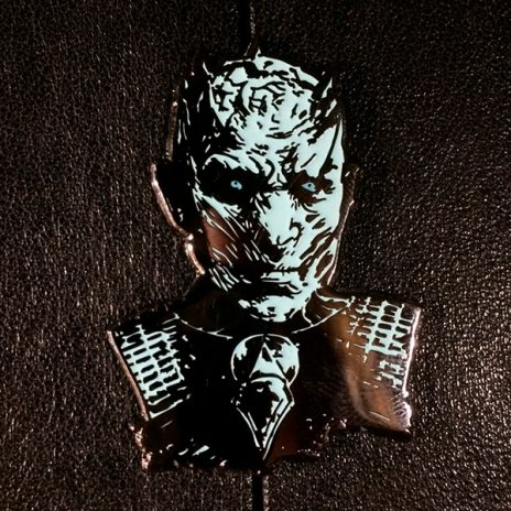 Game of Thrones Fear The Night's King Enamel Pin