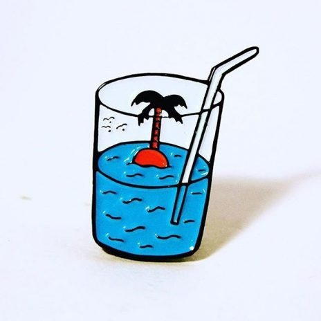 Stay Cool Enamel Pin