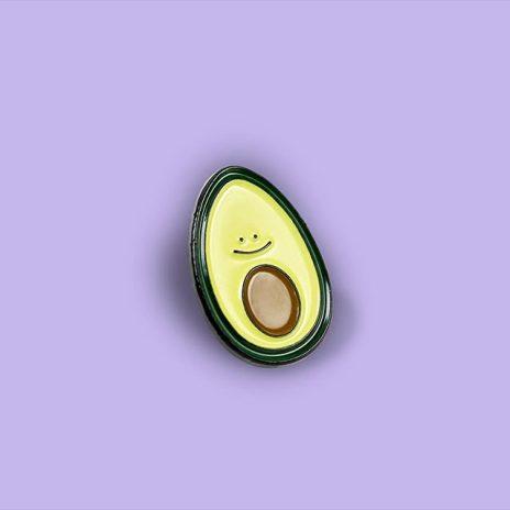 The Friendly Avocado Enamel Pin
