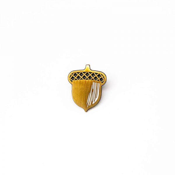 Acorn Enamel Pin