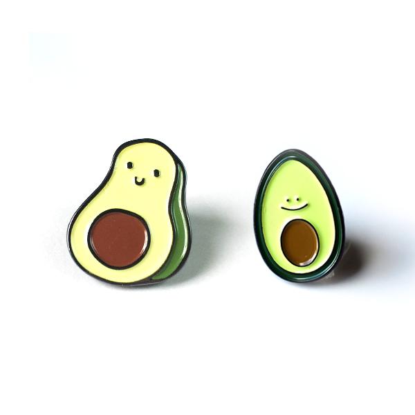 Deal of the Week - Avocado Enamel Pins