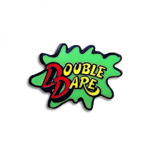 Double Dare Enamel Pin