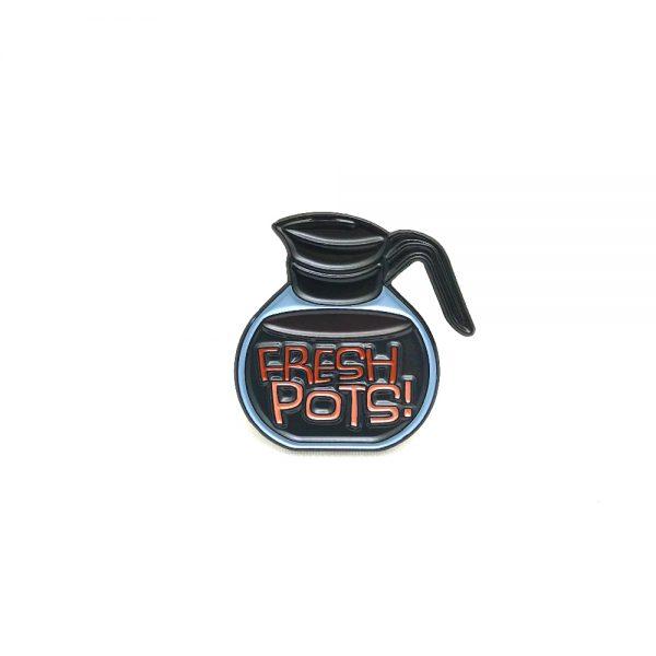 Fresh Pots Enamel Pin